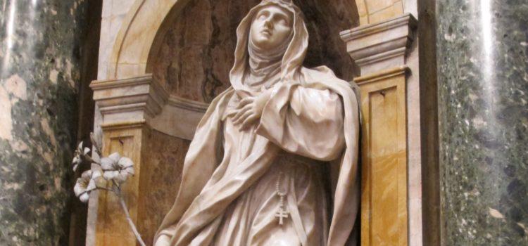 Ai piedi del Crocifisso, in ascolto della sua sete